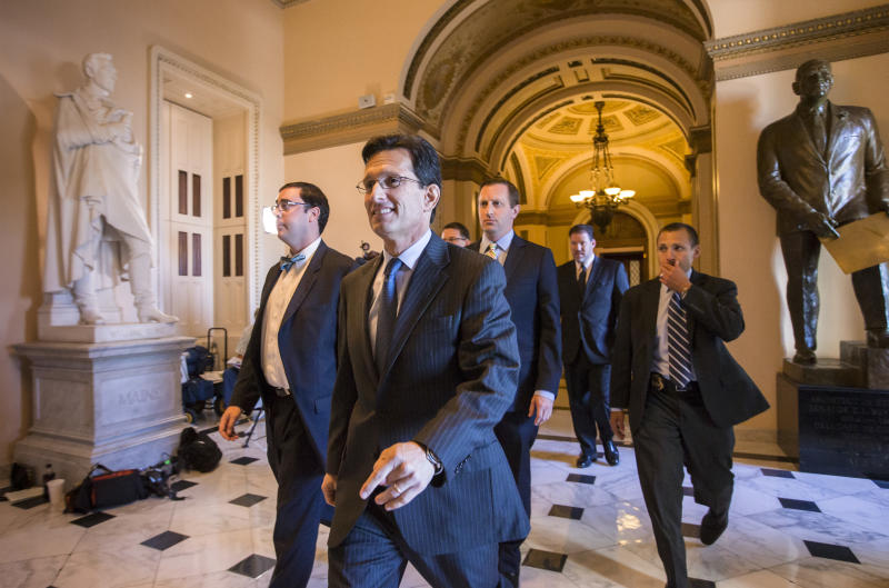 GOP offers smaller budget cuts on debt measure