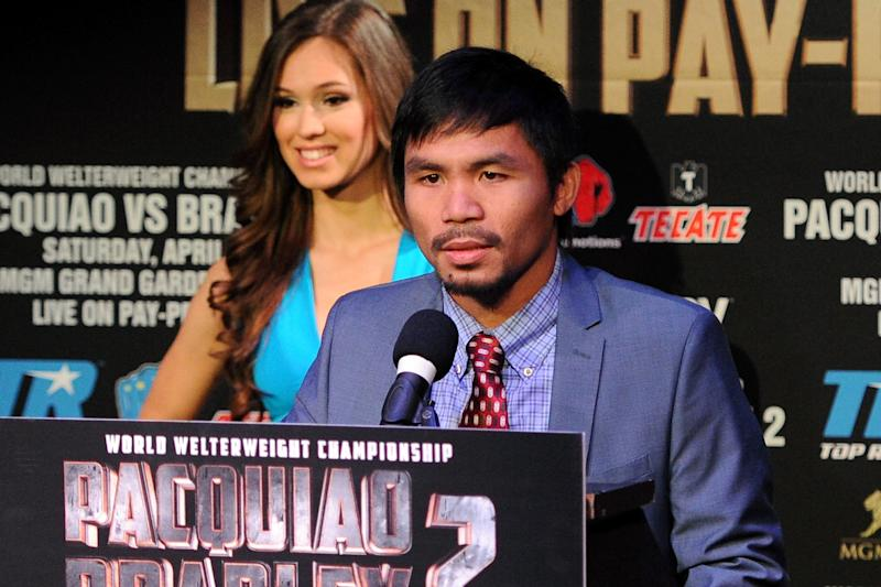 Manny Pacquiao v Timothy Bradley - News Conference
