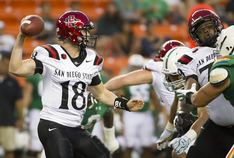 San Diego St. gets 28-21 overtime win over Hawaii