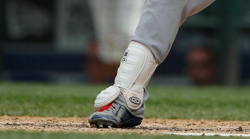 Cleveland Indians star looks for shin guard via social media