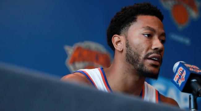 Derrick Rose Is Reportedly More Concerned About His Rape Case Than He's 'Letting On'