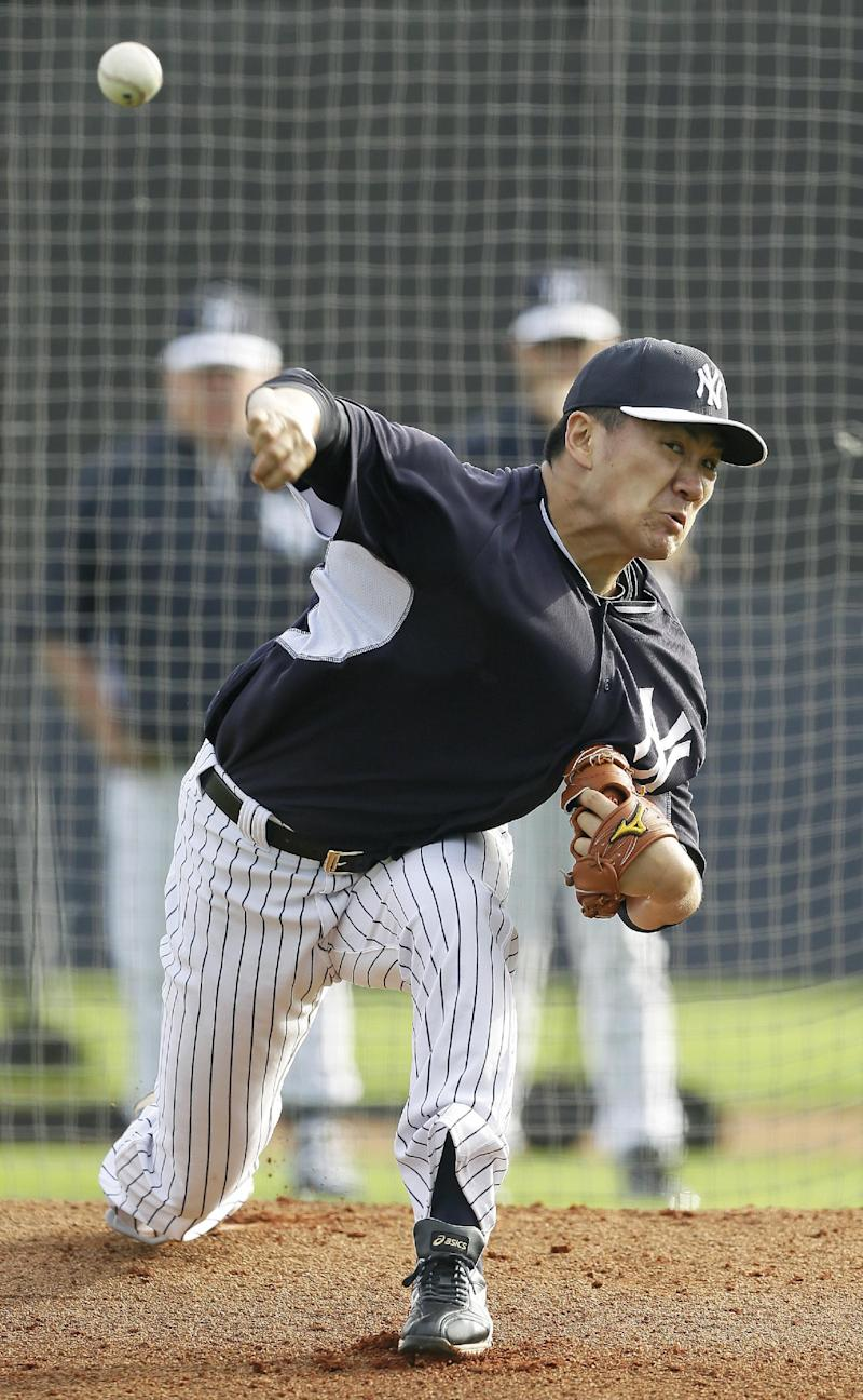 Tanaka to pitch for first time Saturday
