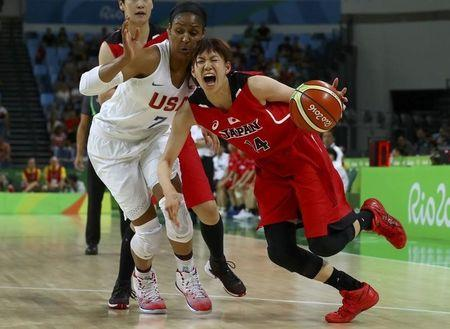 Basketball: U.S. women rout Japan to reach semi-finals