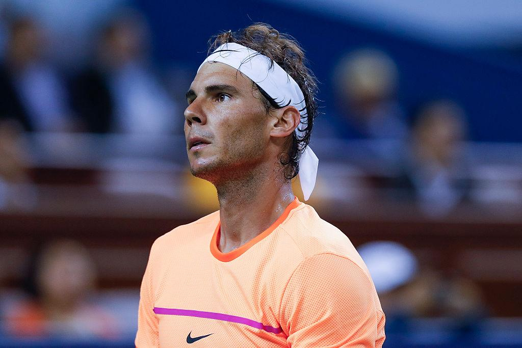 <p>No. 18 (tie): Rafael Nadal <br /> Age: 30 <br /> Earnings: $37.5 million <br /> (Photo by Lintao Zhang/Getty Images) </p>