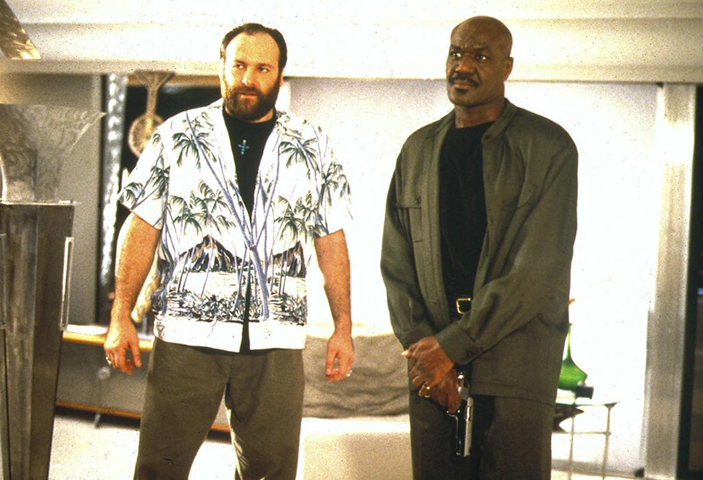 Mandatory Credit: Photo by Moviestore Collection/Rex / Rex USA (941279a)Get Shorty,  James Gandolfini,  Delroy LindoFilm and Television