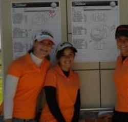 The Guymon girls golf team — Guymon High School girls golf