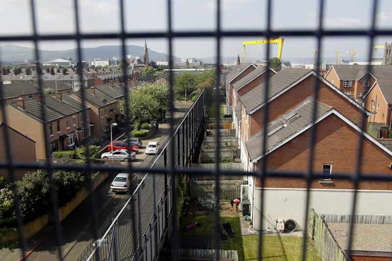 For Belfast, keeping peace means a city of walls