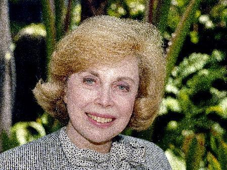 """FILE - In this Sept. 1, 1987 file photo, Dr. Joyce Brothers takes a break from a busy schedule in Los Angeles to talk about her upcoming television series, """"The Psychology Behind the News."""" Brothers died Monday, May 13, 2013, in New York City, according to publicist Sanford Brokaw. She was 85. (AP Photo/Nick Ut, File)"""