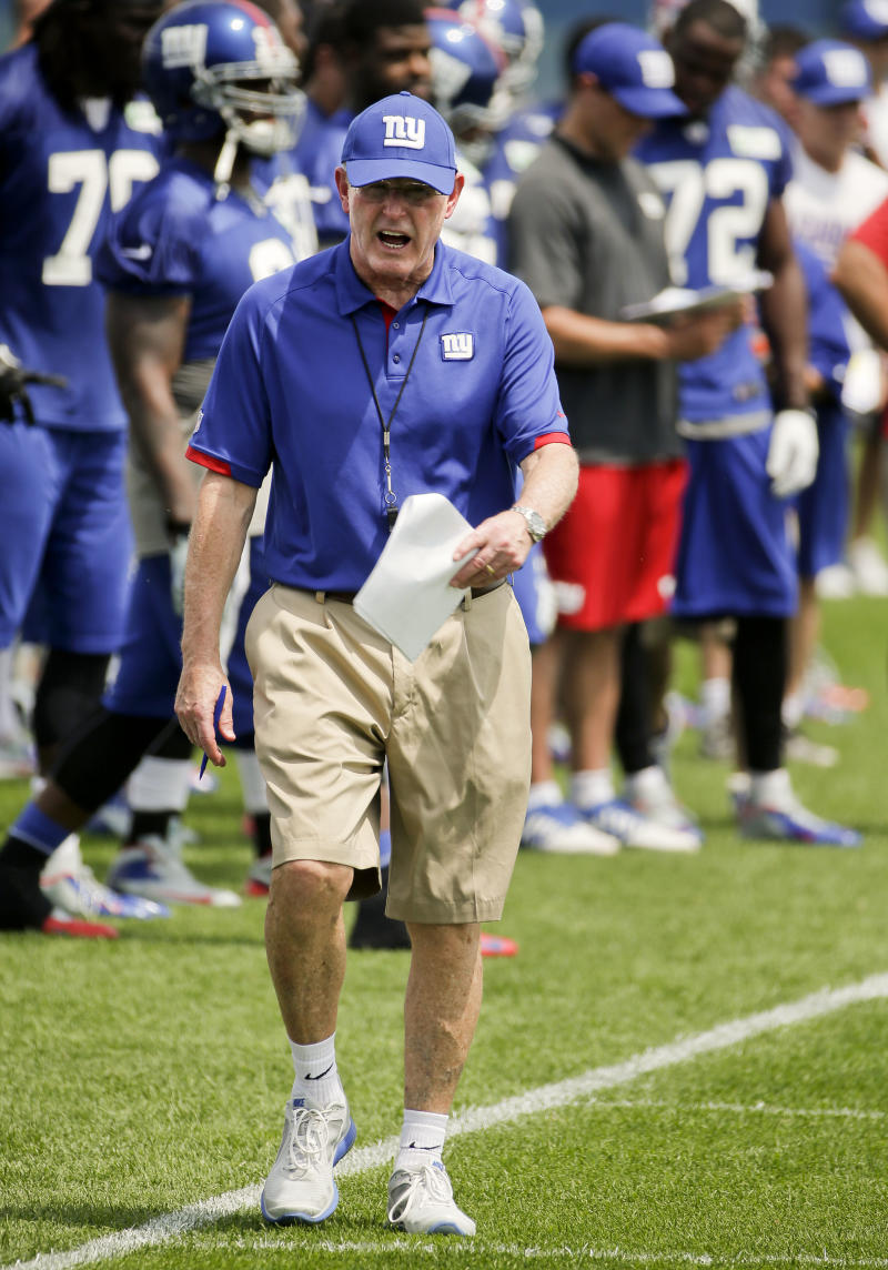 Messages delivered by Coughlin to Giants