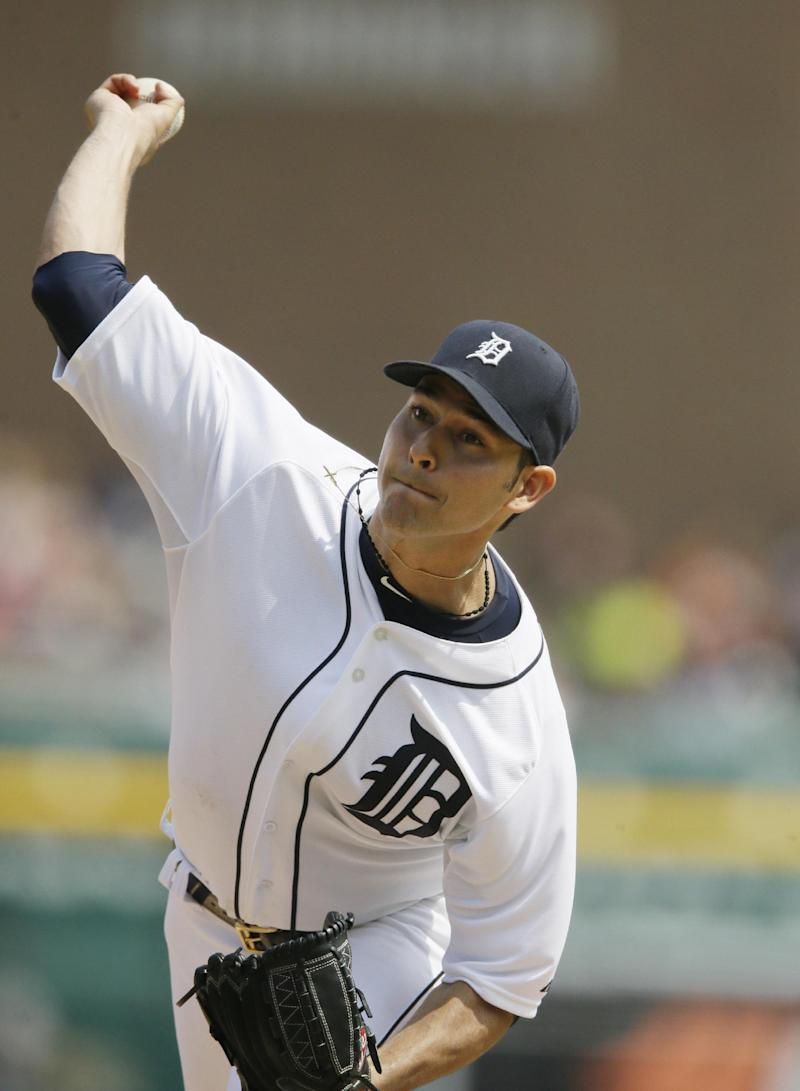 Injured Tigers RHP Sanchez has setback in recovery