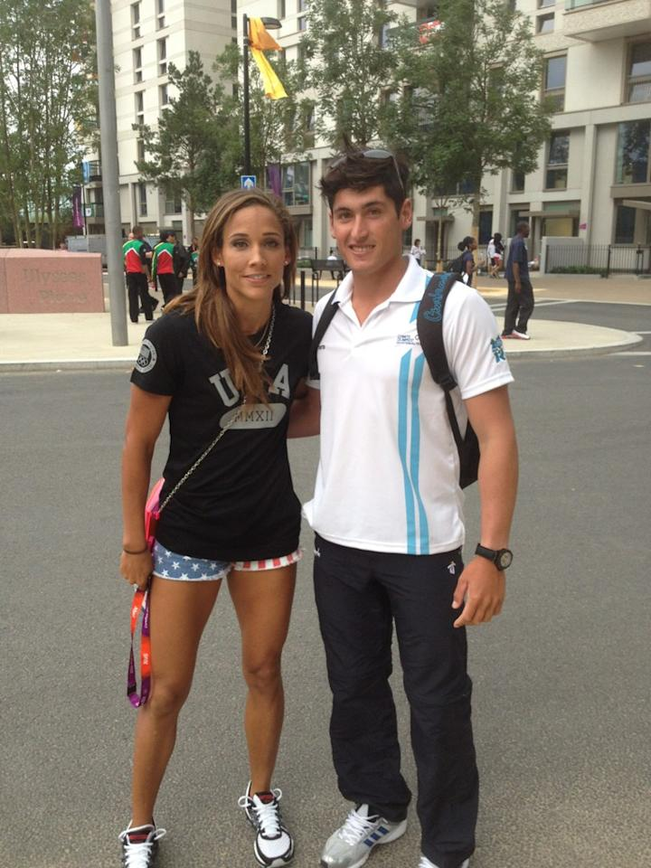 Of course I'll RT this photo. my legs look amazing. #vain ;) RT @juanimaegli: rt for a fellow olympian? @lolojones