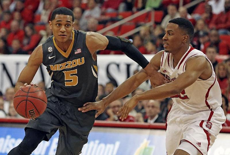 No. 25 Missouri beats NC State 68-64