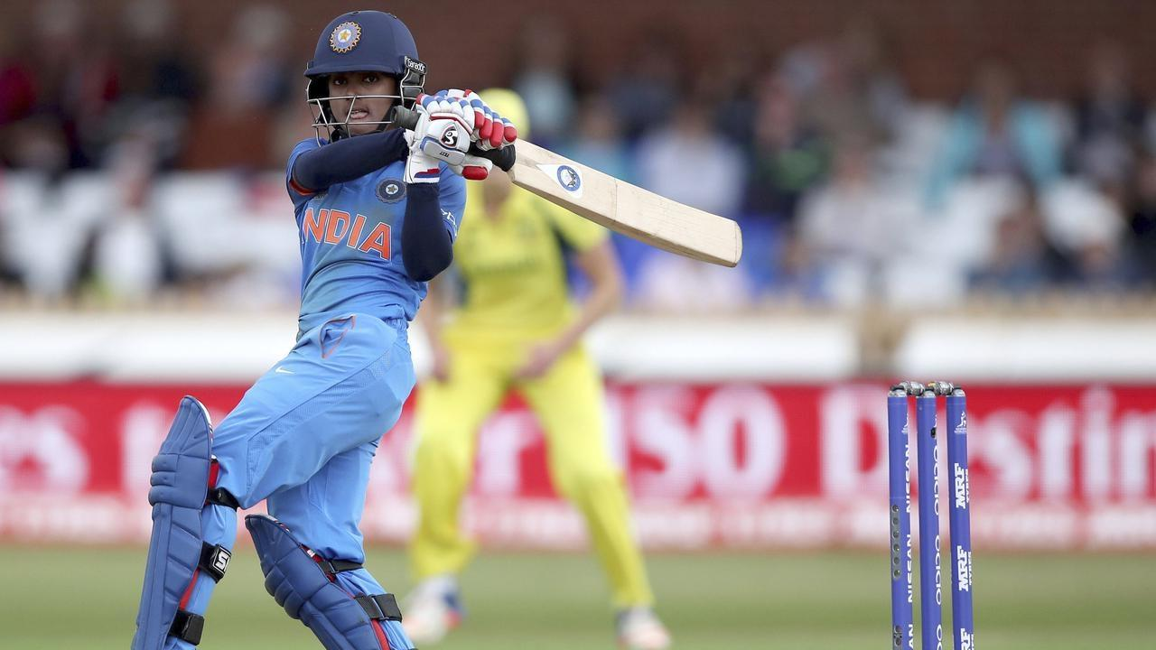 India's Harmanpreet Kaur blasts her way to an unbeaten 171 in the World Cup semi-final