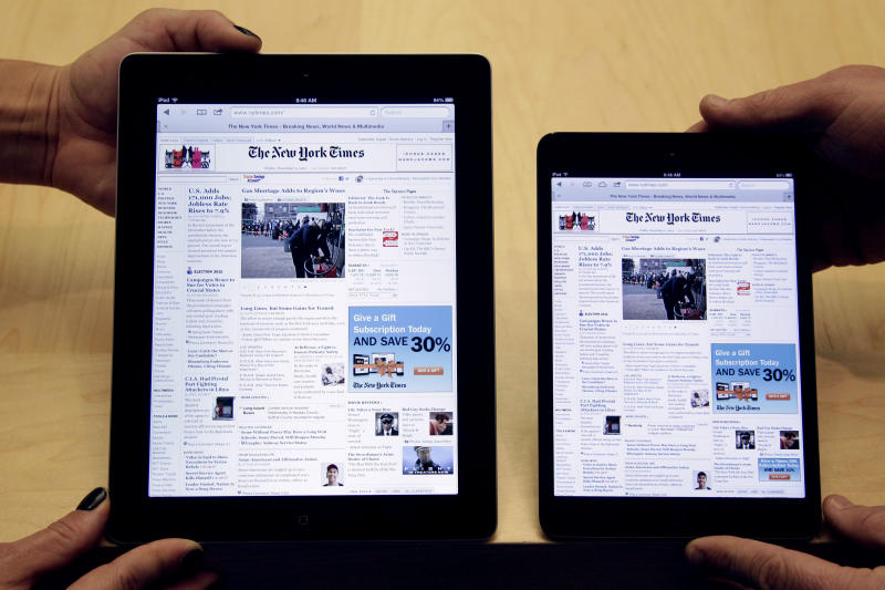 How Apple's iPad Mini compares with rivals