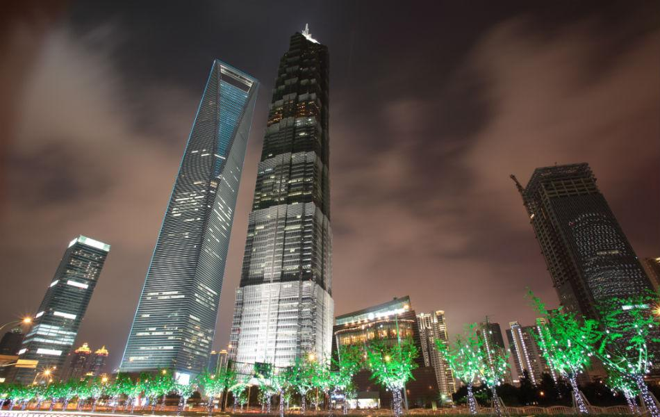 The Shanghai World Financial Center was built in 2008. It is 492m high, and has 101 floors.
