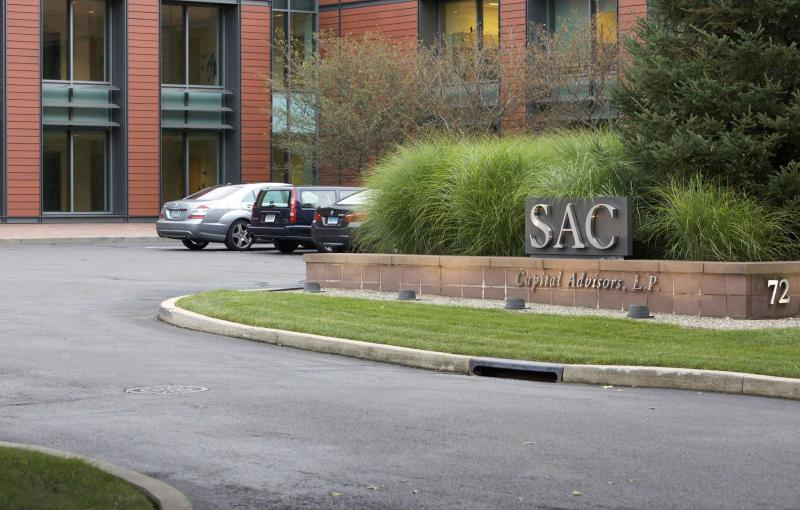 An exterior view of the headquarters of SAC Capital Advisors, L.P. in Stamford, Connecticut