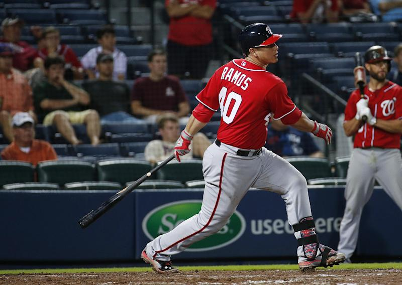 Nationals score 3 runs in 11th, beat Braves 4-1