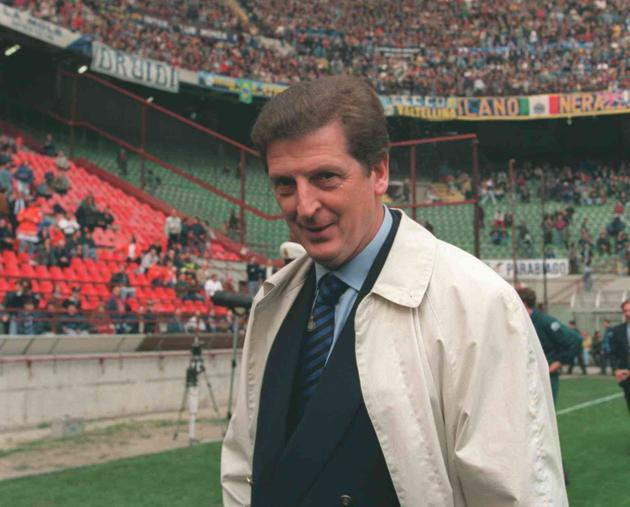 Hodgson at the San Siro, wishing he was watching Don Giovanni instead (Getty)