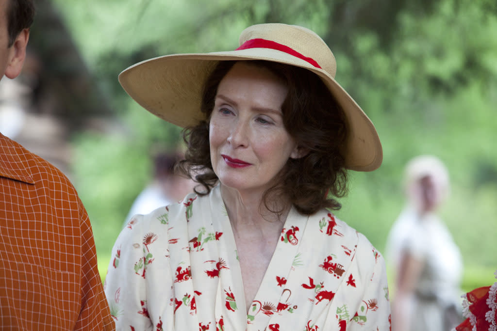 """Frances Conroy stars as Maybelle Carter in the Lifetime Original Movie, """"Ring of Fire."""""""