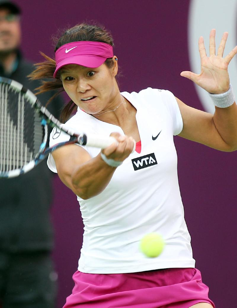 Top seed Li ousted in Qatar Open 3rd round
