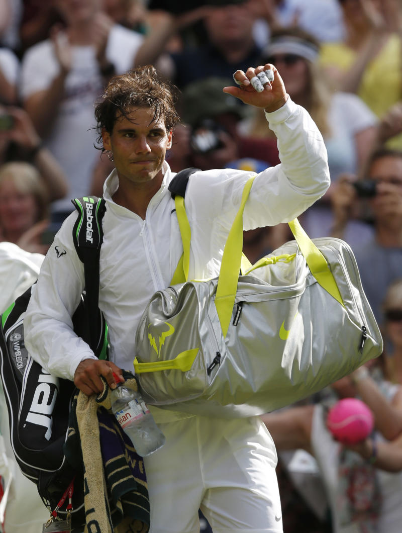 Nadal's grass-court winning streak now stands at 1