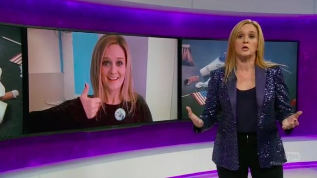 Samantha Bee Tells Us All to Get Back to Work