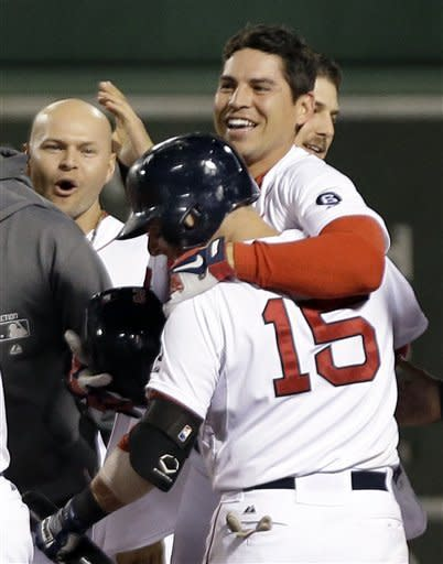 Ellsbury's single gives Red Sox 4-3 win over Yanks