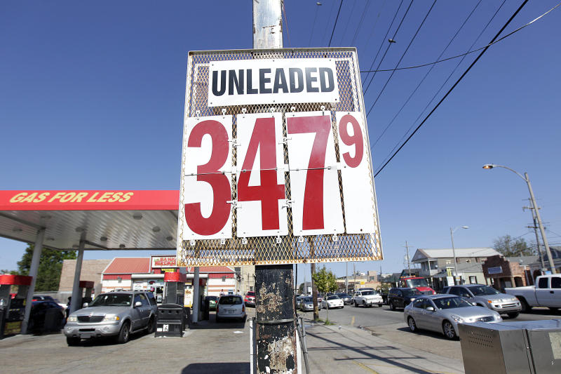 Gasoline prices _ finally _ begin to slide