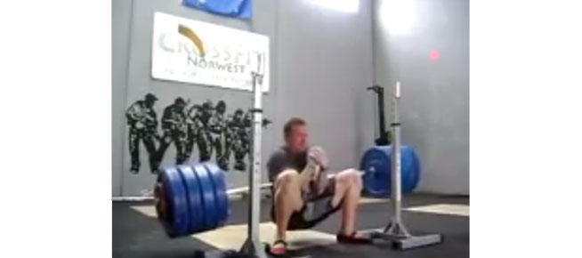 Zercher Squat Fail