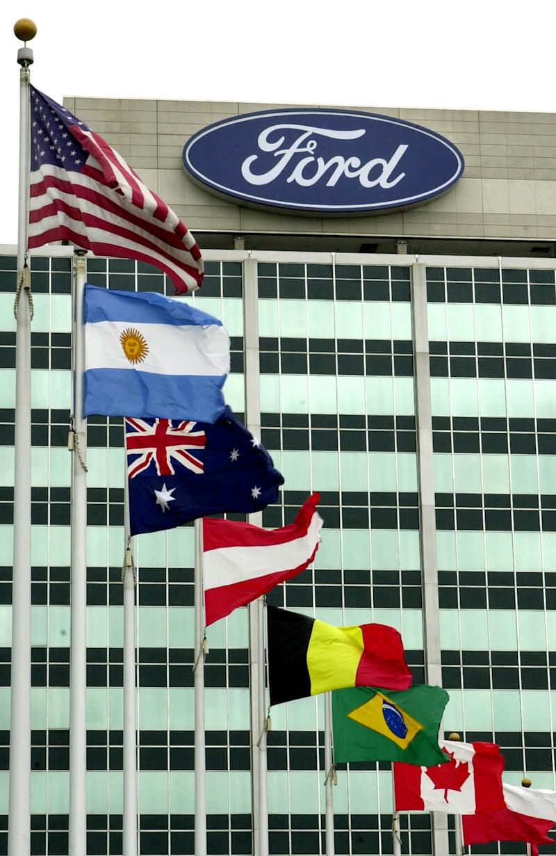 Ford shares down as 4Q profit eclipsed by Europe