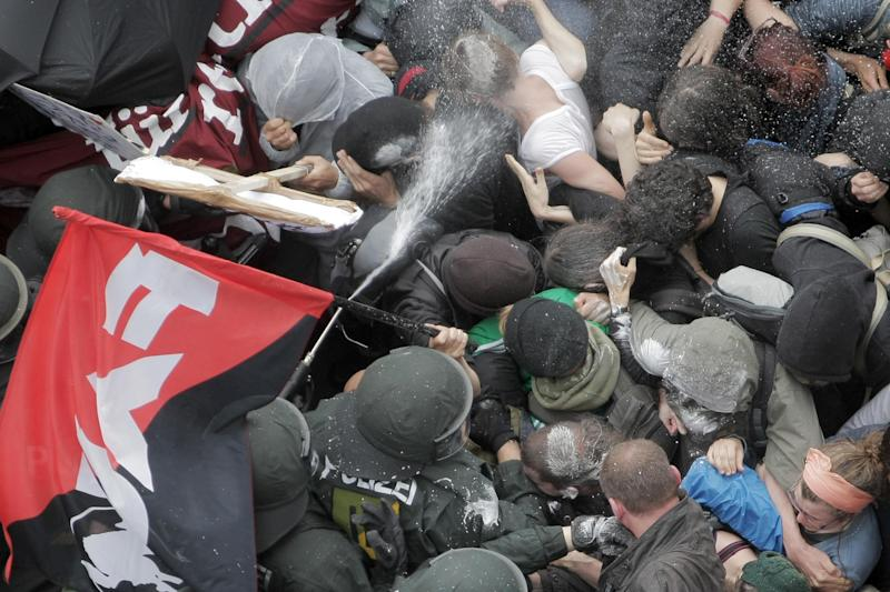 Anti-austerity protests: Spain, Germany, Portugal
