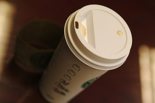 "<div class=""caption-credit""> Photo by: Credit: Flickr/TerryJohnston</div><div class=""caption-title"">Marble Mocha Macchiato</div>Says an anonymous barista commenter, ""The Marble Mocha Macchiato is a twist on the signature Caramel Macchiato. White mocha on the bottom with no whip, shot on the top and mocha drizzle."" <br>"