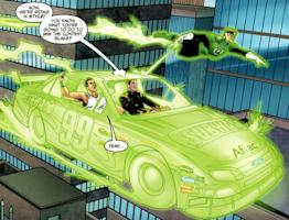 Carl Edwards, a superhero with an addiction to Subway sandwiches