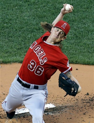 Weaver helps Angels beat fading Red Sox 7-3