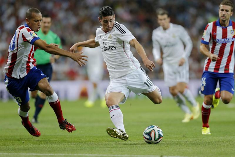 Real Madrid draws 1-1 with Atletico in Super Cup