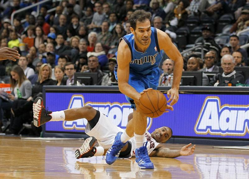 Calderon out of Mavericks lineup with ankle bruise
