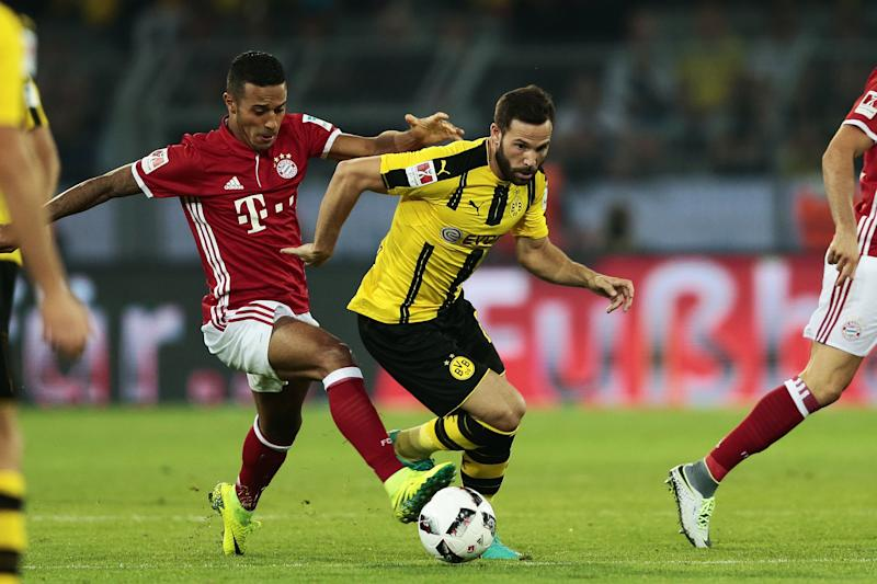 Pierre-Emerick Aubameyang strikes as Borussia Dortmund down Bayern Munich
