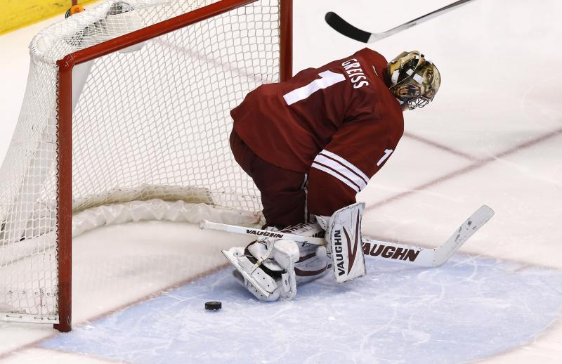 Frustrations mounting for Phoenix Coyotes