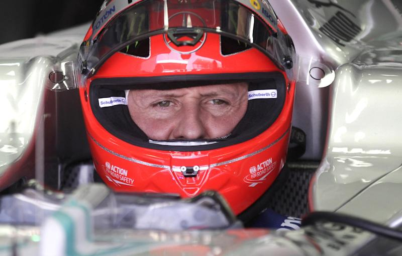 Schumacher family sees 'small, encouraging signs'
