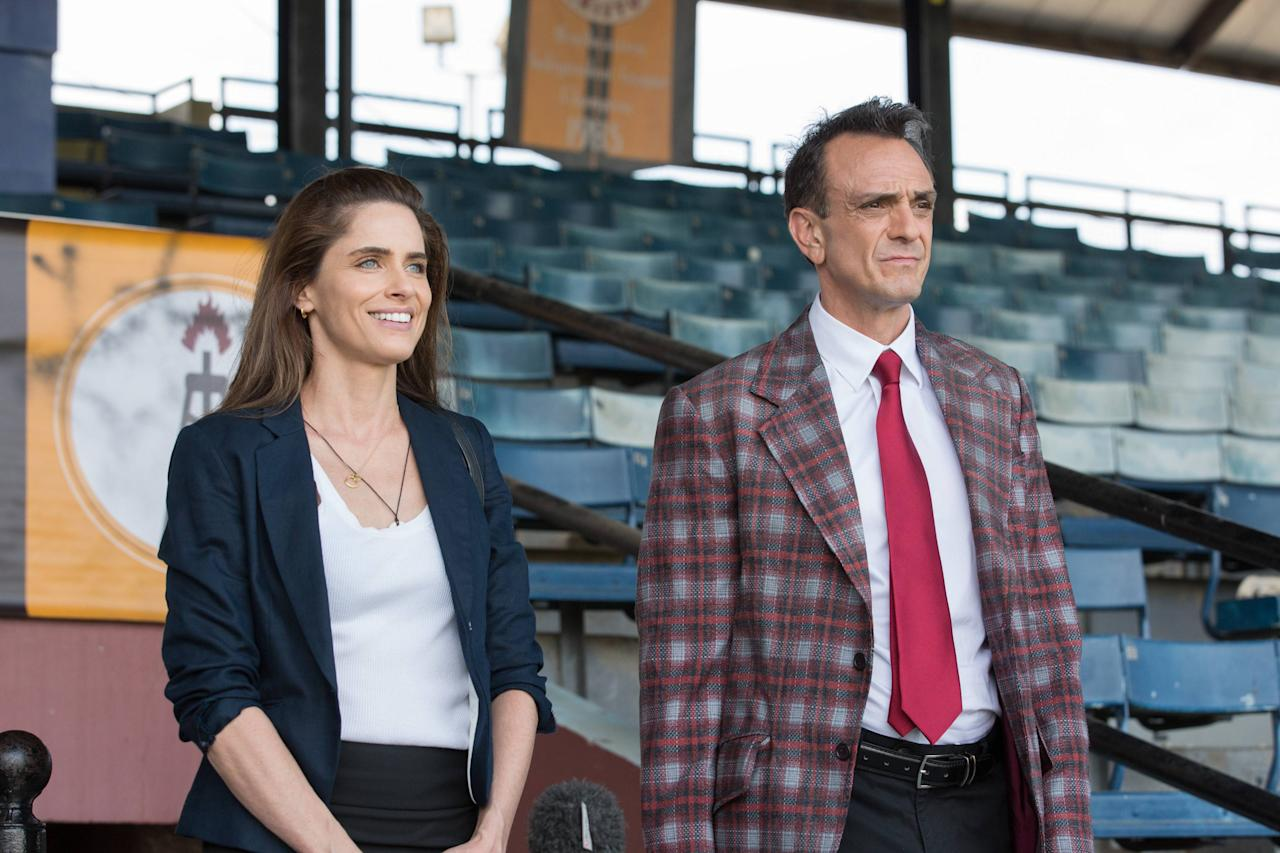 "<a rel=""nofollow"" href=""http://deadline.com/tag/ifc/"">IFC</a>'s new comedy <em><a rel=""nofollow"" href=""http://deadline.com/tag/brockmire/"">Brockmire</a></em>, debuting Wednesday April 5 at 10 PM, is a ""sybaritic love letter to baseball,"" star <a rel=""nofollow"" href=""http://deadline.com/tag/hank-azaria/"">Hank Azaria</a> told TV critics today at <a rel=""nofollow"" href=""http://deadline.com/tag/tca/"">TCA</a>. <em>Brockmire</em> stars Hank Azaria, Amanda Peet and Tyrel Jackson Williams in the story of a formerly successful Baseball announcer who torched his career with a Funny or Die booze-fueled on-air breakdown, after discovering his wife shagging a stranger on the kitchen floor right before he covers a baseball game. That scene…"