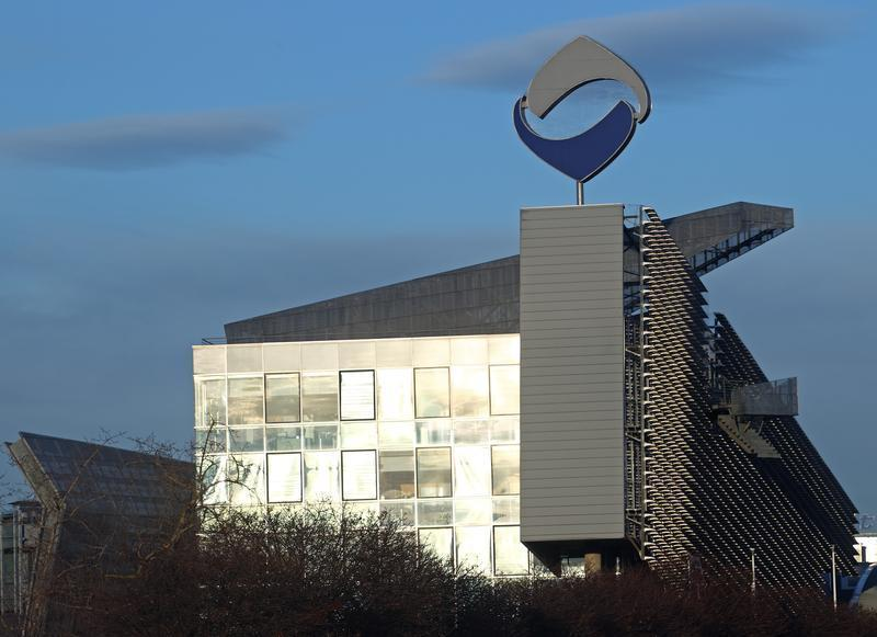 Austria's nationalised lender Hypo Alpe Adria headquarters is pictured in Klagenfurt