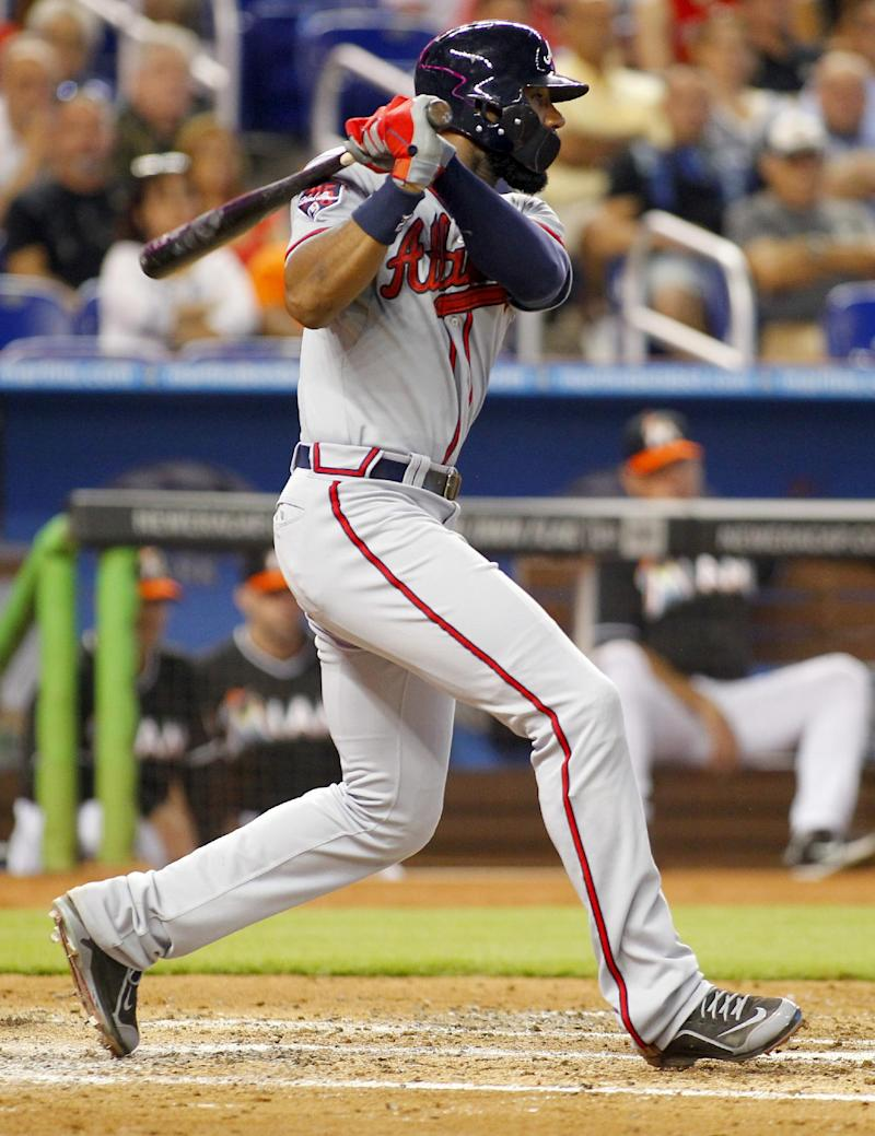 Heyward, Freeman lift Braves over Marlins
