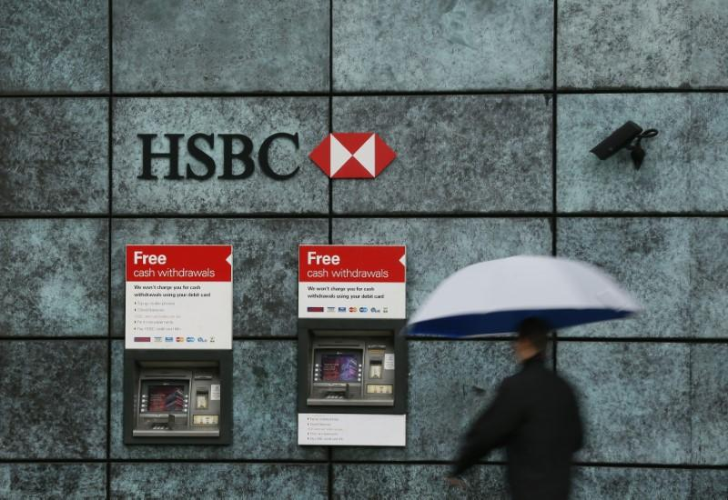 HSBC profits fall by 86% in third quarter