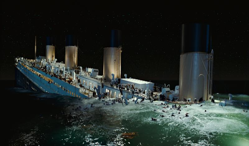'Titanic' effects maker files for Chapter 11
