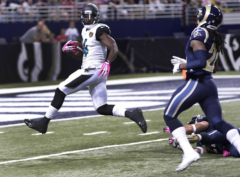 Rams end slump, beat winless Jaguars 34-20