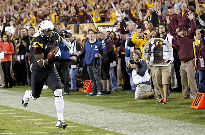 Sun Devils race past Arizona, 58-21