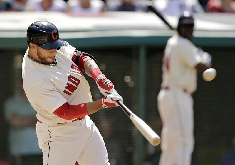 Aviles' RBI single gives Indians 7-6 win