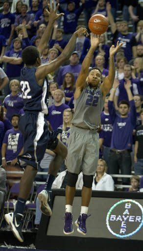 Kansas State beats North Florida 74-55