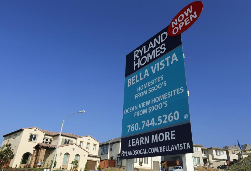 Single family homes for sale are seen in San Marcos