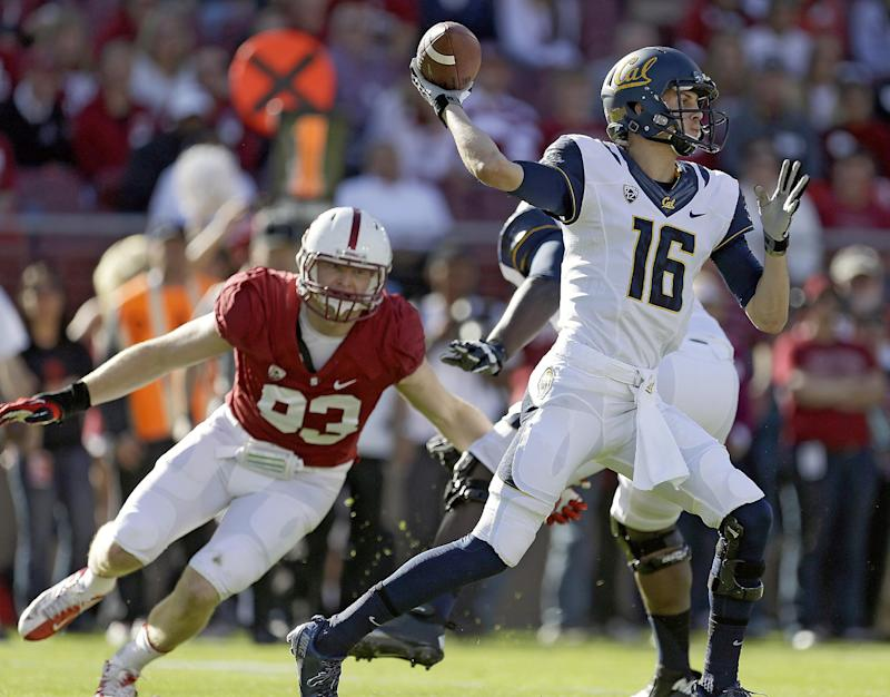 Cal QB Jared Goff has shoulder surgery
